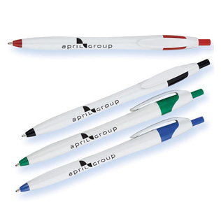 <html>White Barrel European Design Ballpoint Pen- Normal price is below, <b>they are on sale now</b>-</html>
