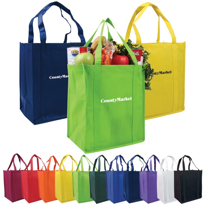 Re-Usable Tote Bags-