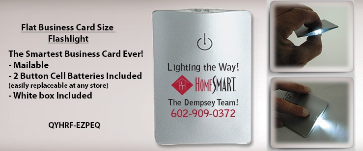 Flat Business Card Size Flashlight